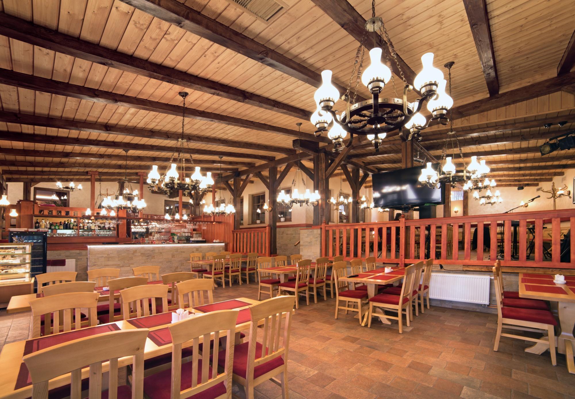 Hotel Leyla - restaurace