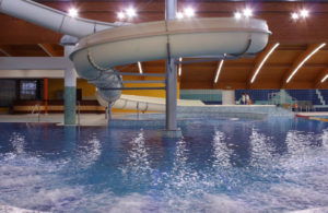 Aquapark a wellness Frymburk